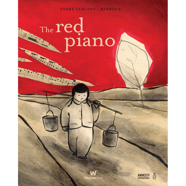 cover image the red piano